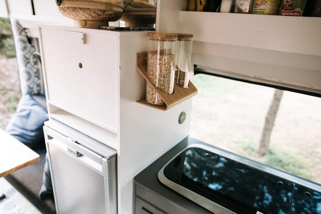 DIY Campervan Conversion - The Kitchen