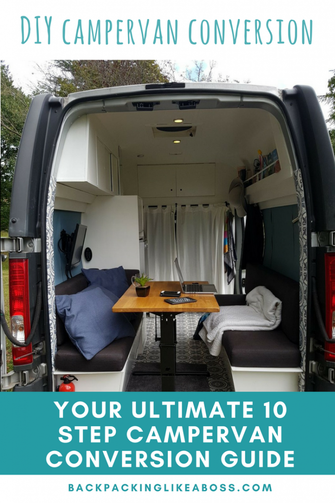 The Ultimate Guide to Your DIY Campervan Conversion - Step