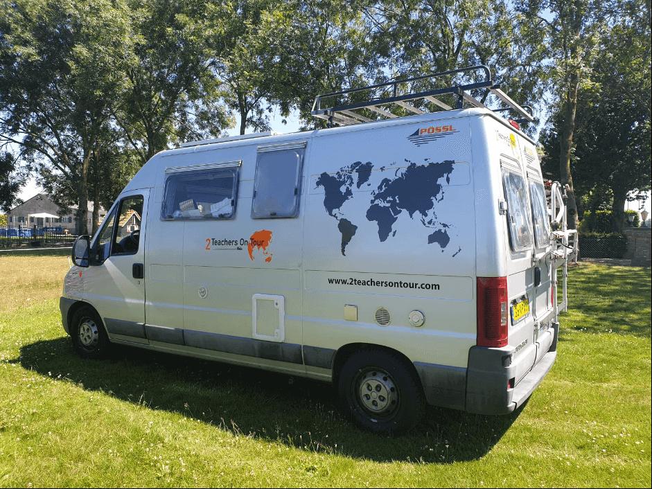 Dutch vanlifers - teachers on tour