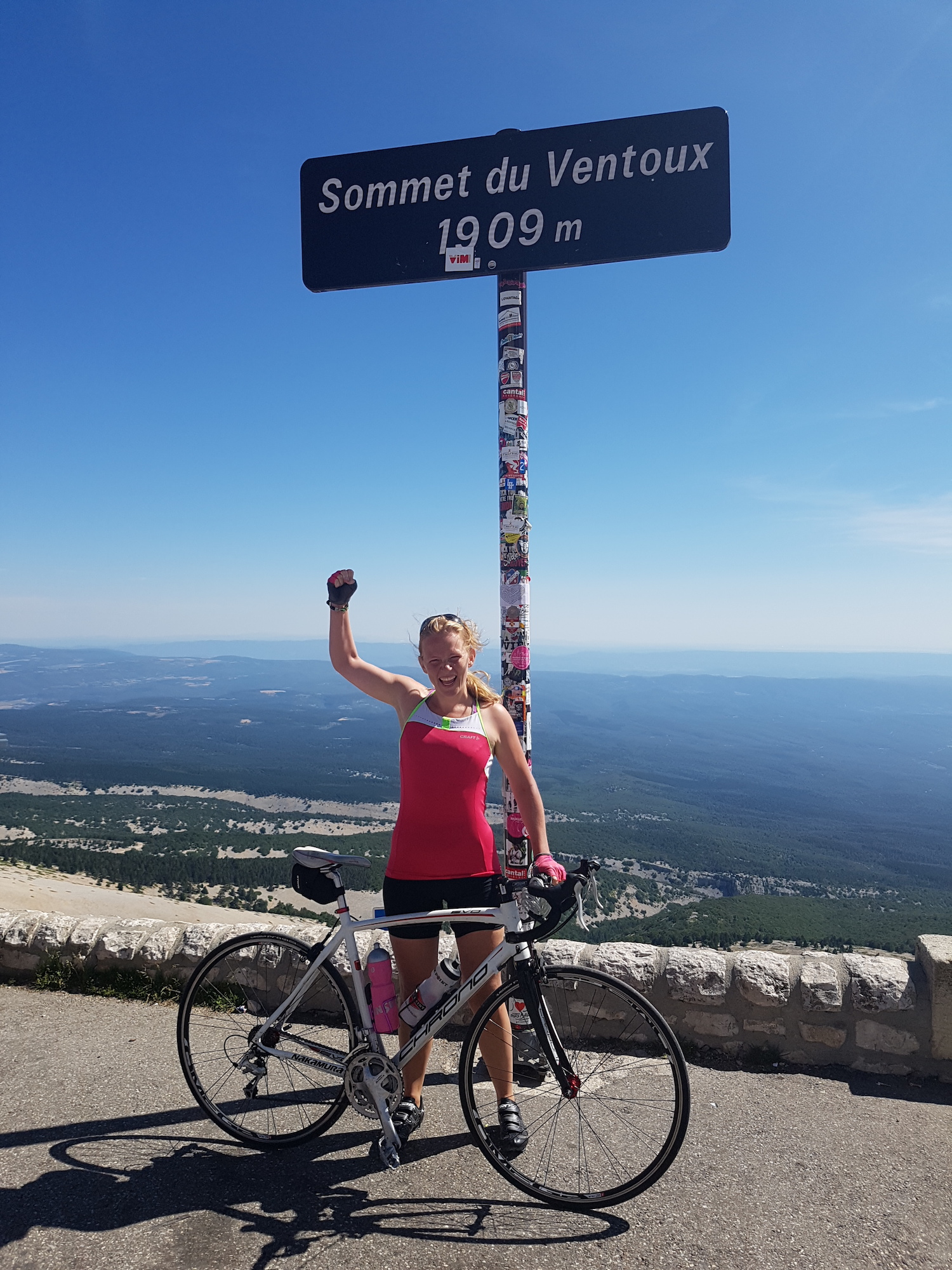 Cycling Mont Ventoux On The Top Backpacking Like A Boss