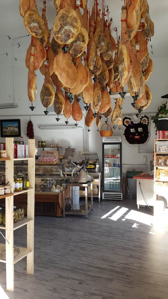 Visiting Trevelez Jamon Serrano Shop