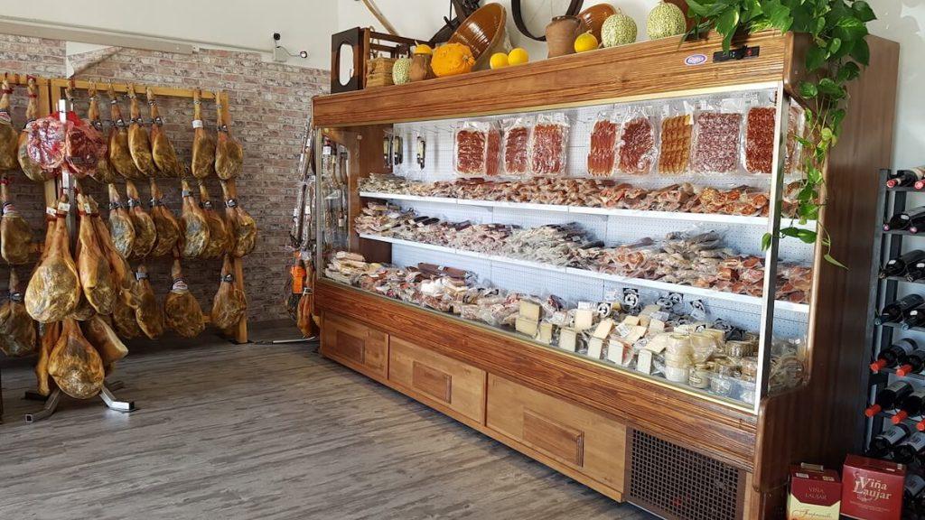 Visiting Trevelez Jamon Serrano Shop Alpujarras