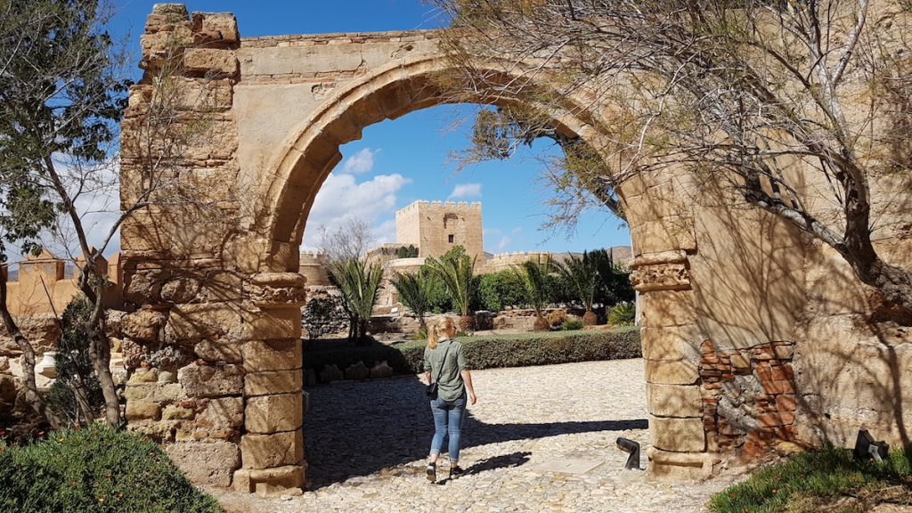 alcazaba of almeria spain - things to do in Almeria