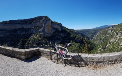 Cycling Gorges de la Nesque – Adventuring around the Mont Ventoux
