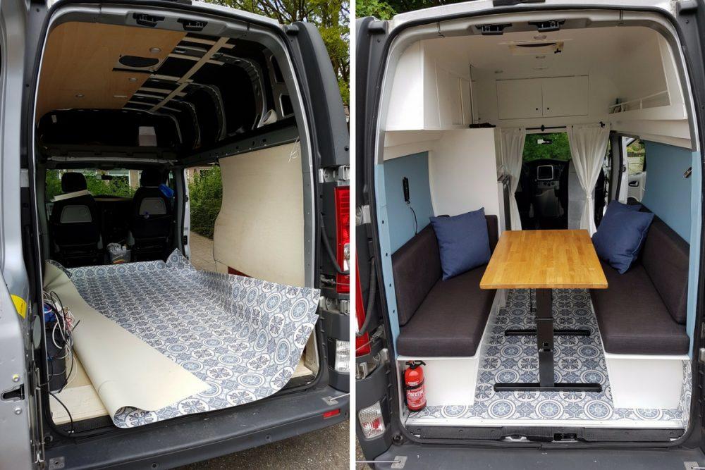 Stripping the Van - DIY Renault Trafic CamperVan Conversion