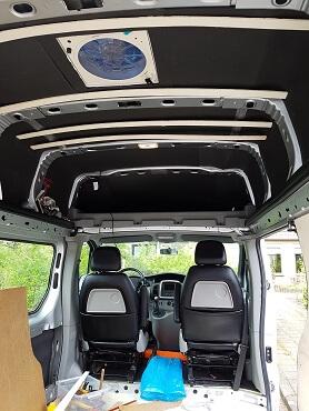 DIY Campervan Conversion Renault Traffic