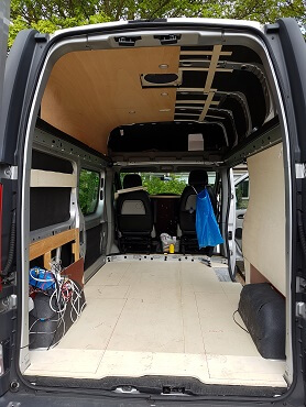 DIY Campervan Conversion Renault Traffic