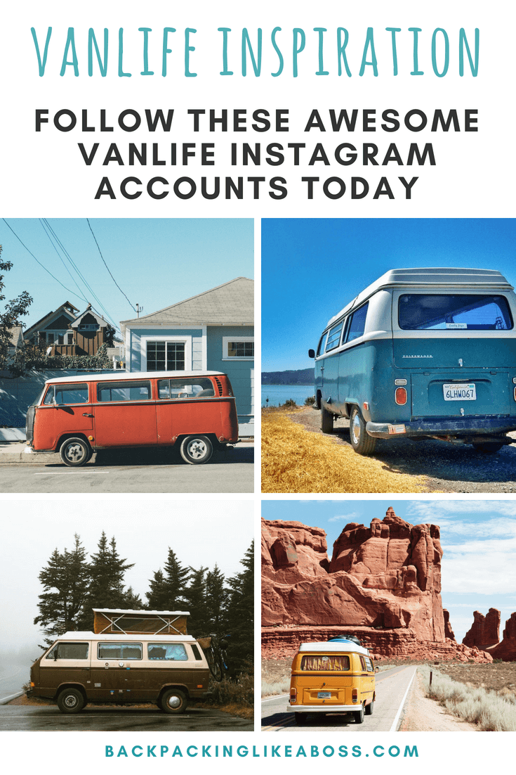 Inspiring Vanlife Instagram accounts