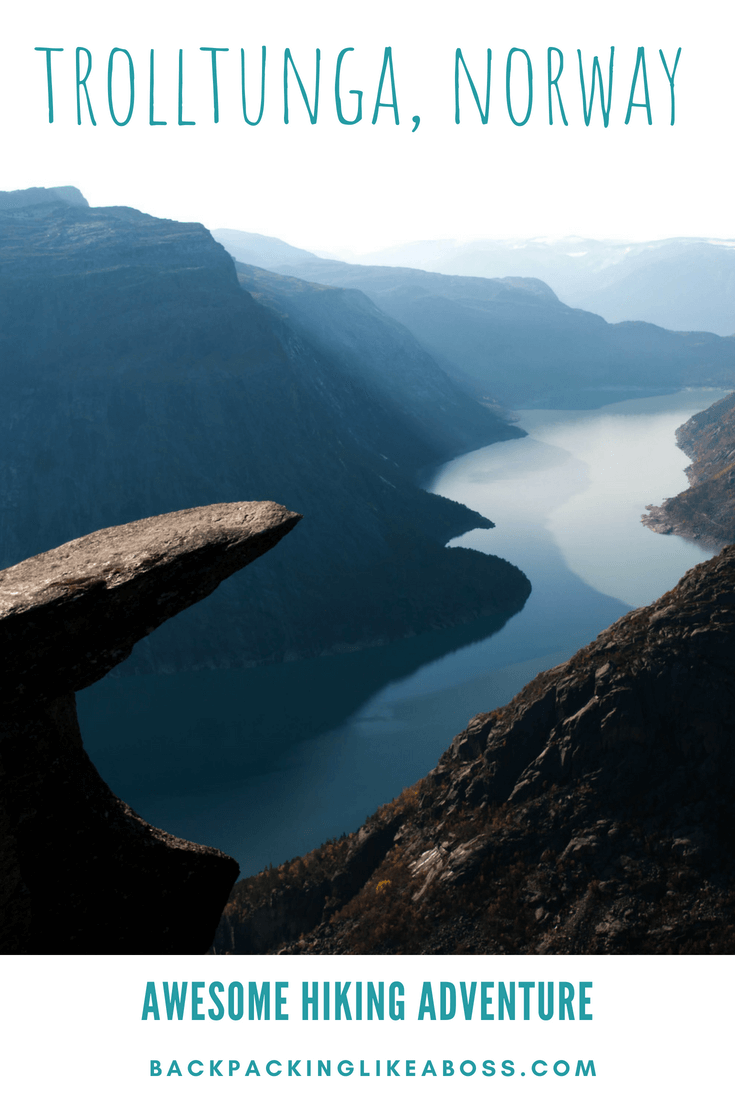 Hiking Trolltunga in Norway