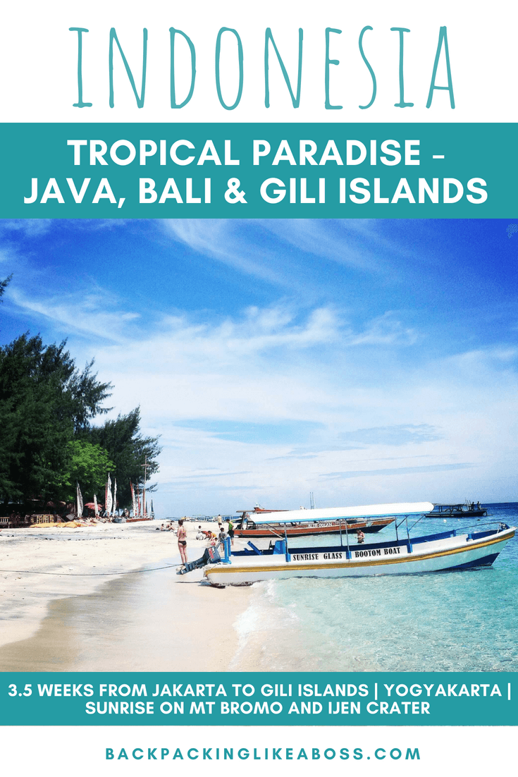 Java, Bali and Gili Islands Indonesia