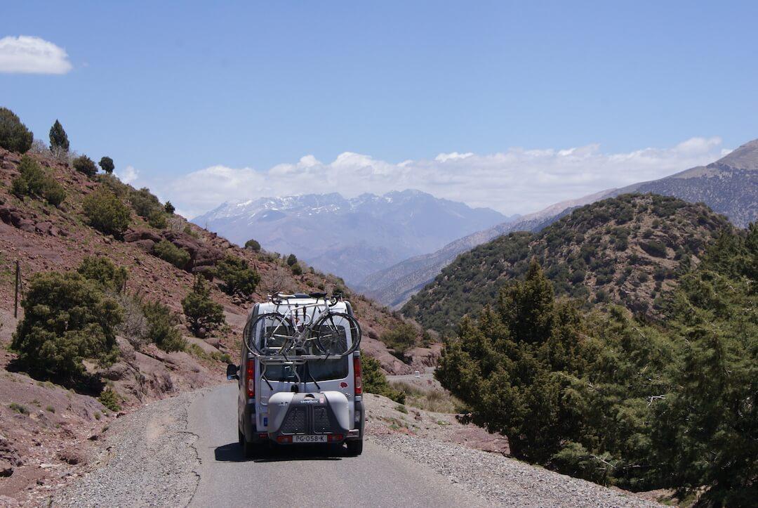 Tizi n test road views