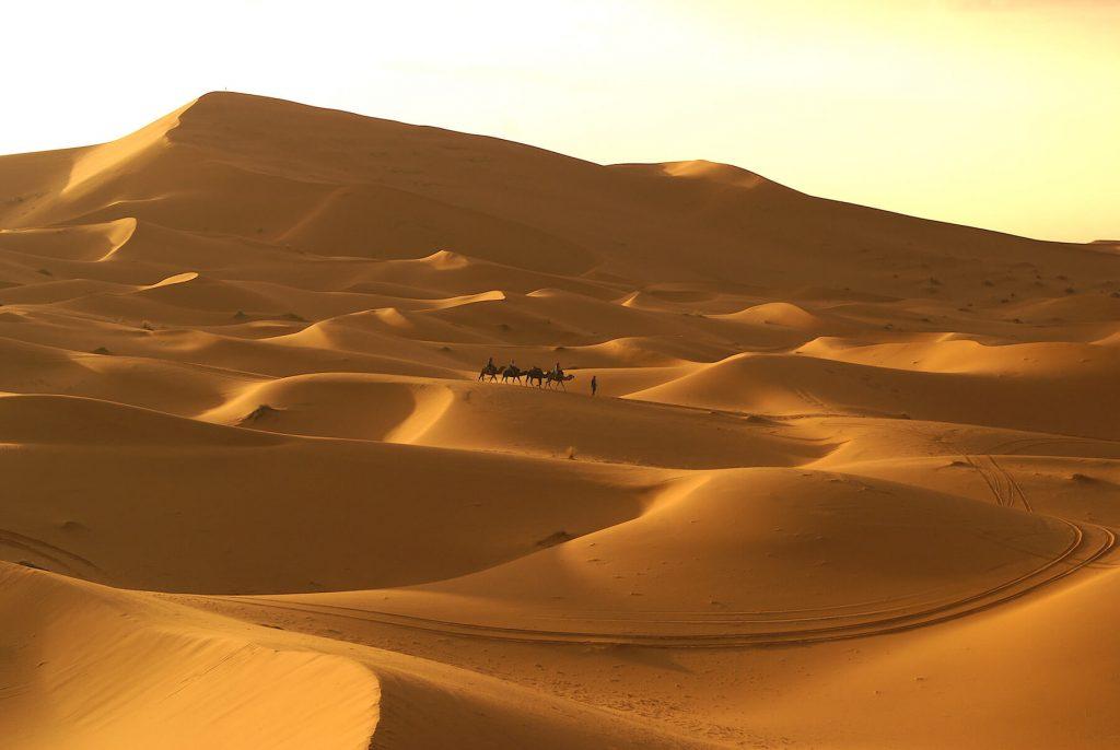 4 Week Morocco Itinerary by Campervan - Merzouga Sahara sunset tour