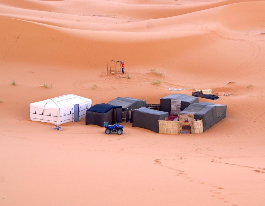 Morocco Itinerary by Campervan - Merzouga Sahara camping