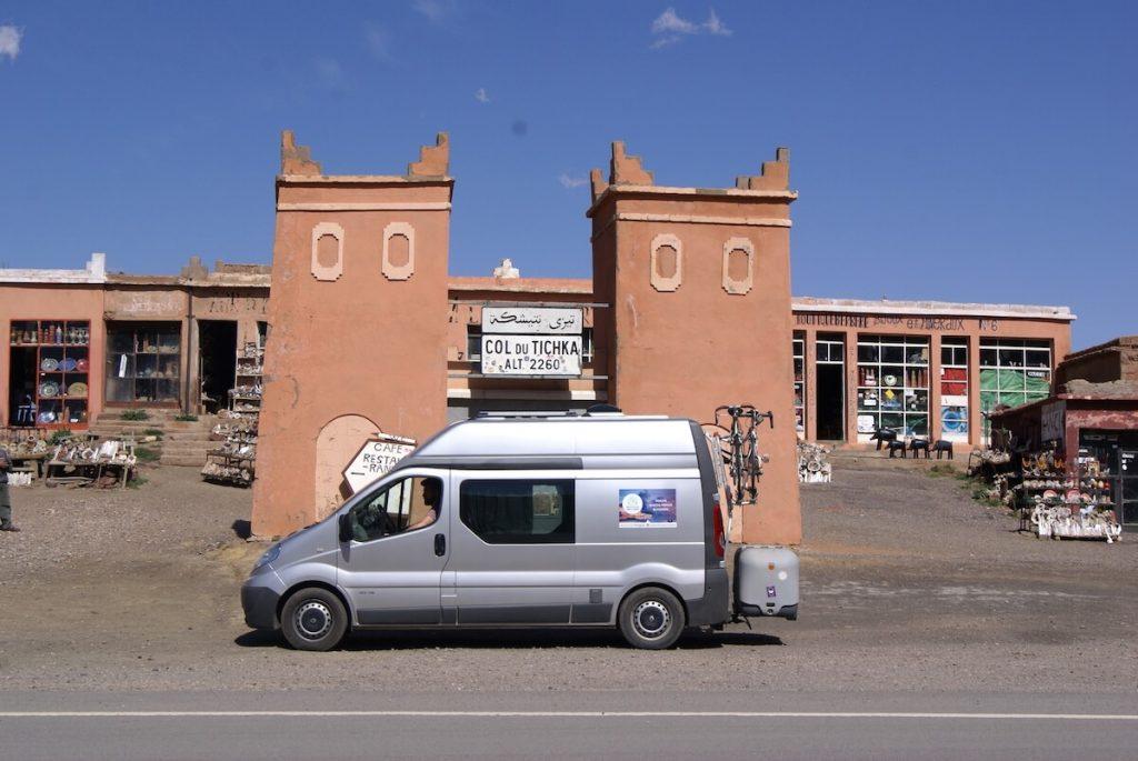 Vanlife Morocco - 4 week Morocco Itinerary by Campervan - Tizi n Tichka