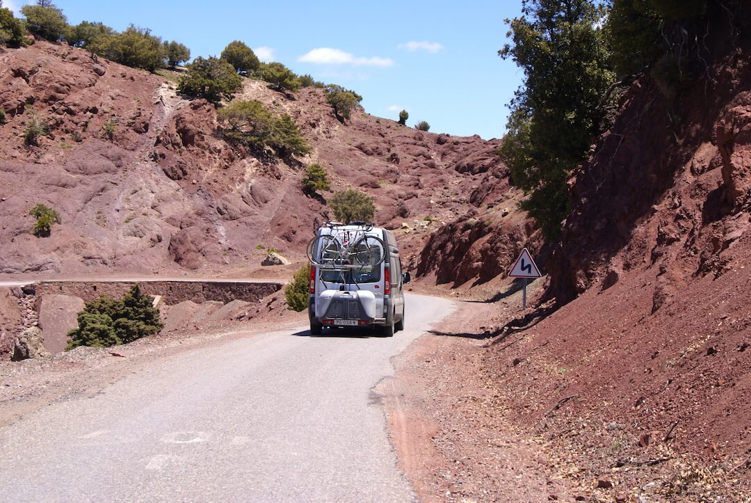 Morocco by Campervan - Tizi n test road11