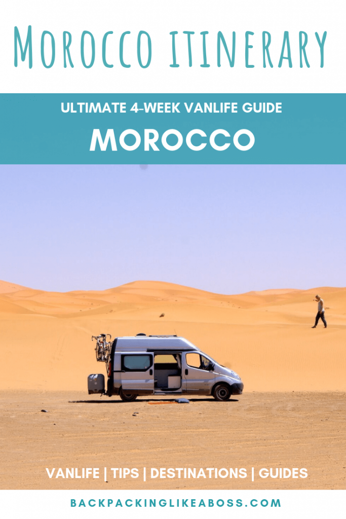 Morocco 4-week campervan itinerary 1