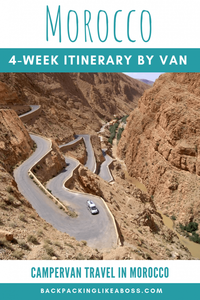 Morocco 4-week campervan itinerary 2