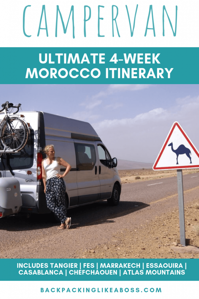 Morocco 4-week campervan itinerary 3