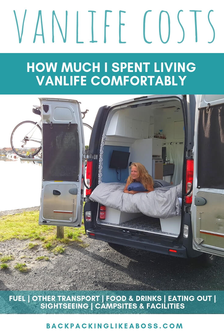 Vanlife living - campervan budget