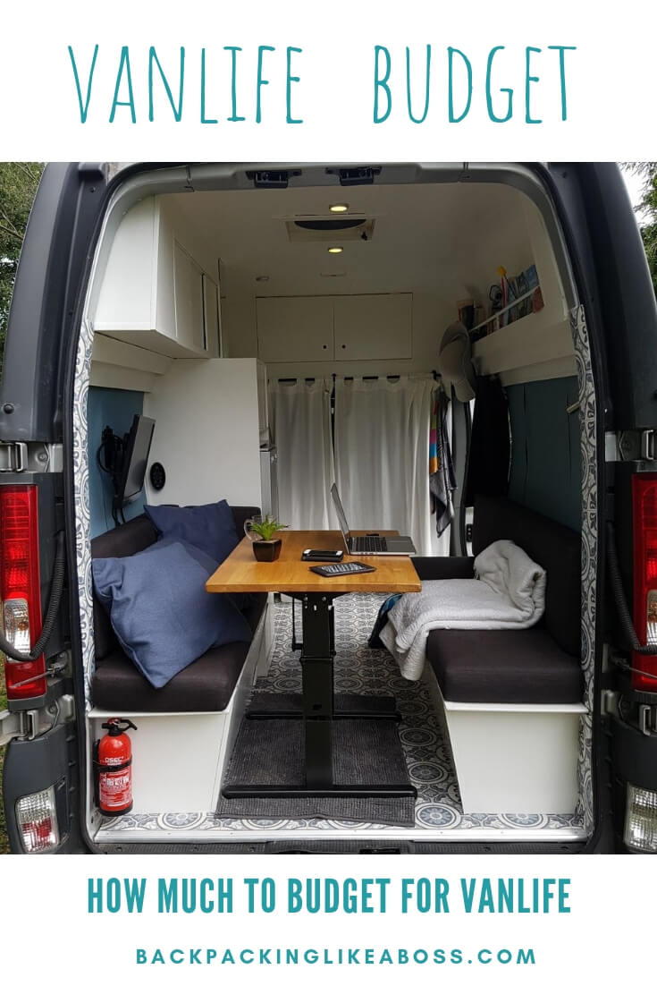 Vanlife costs