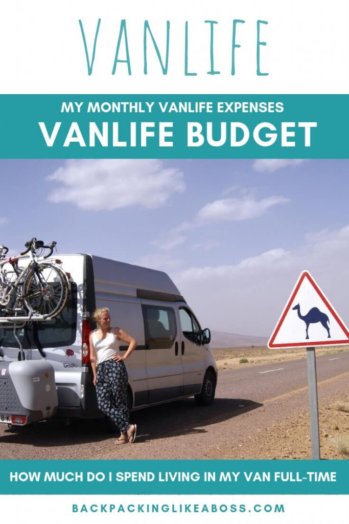 vanlife costs - vanlife budget - how expensive is vanlife