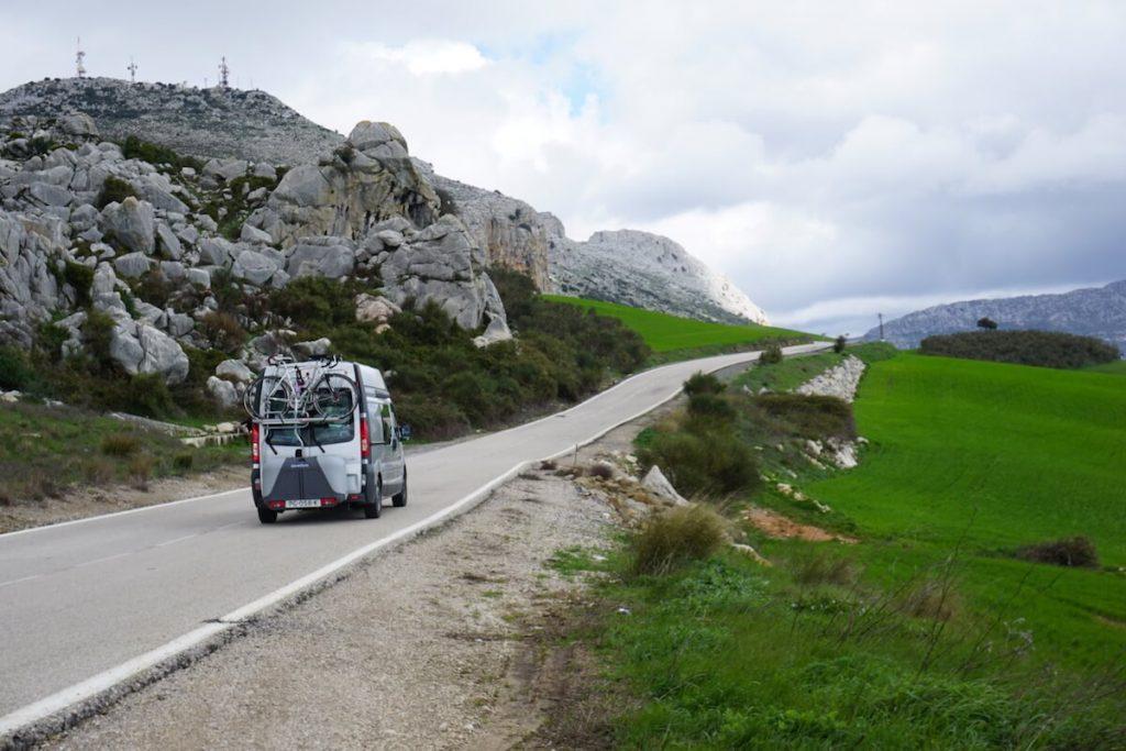 Visiting El Torcal Natural Parc - Antequera - Malaga - Daytrip - by campervan