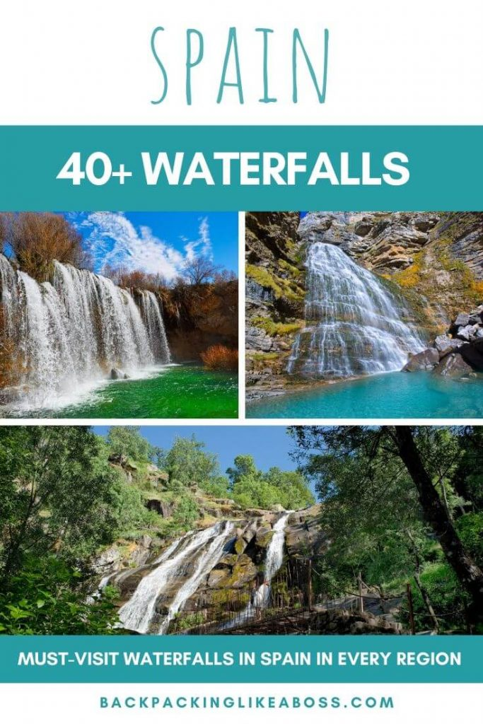 40+ Waterfalls in Spain blog