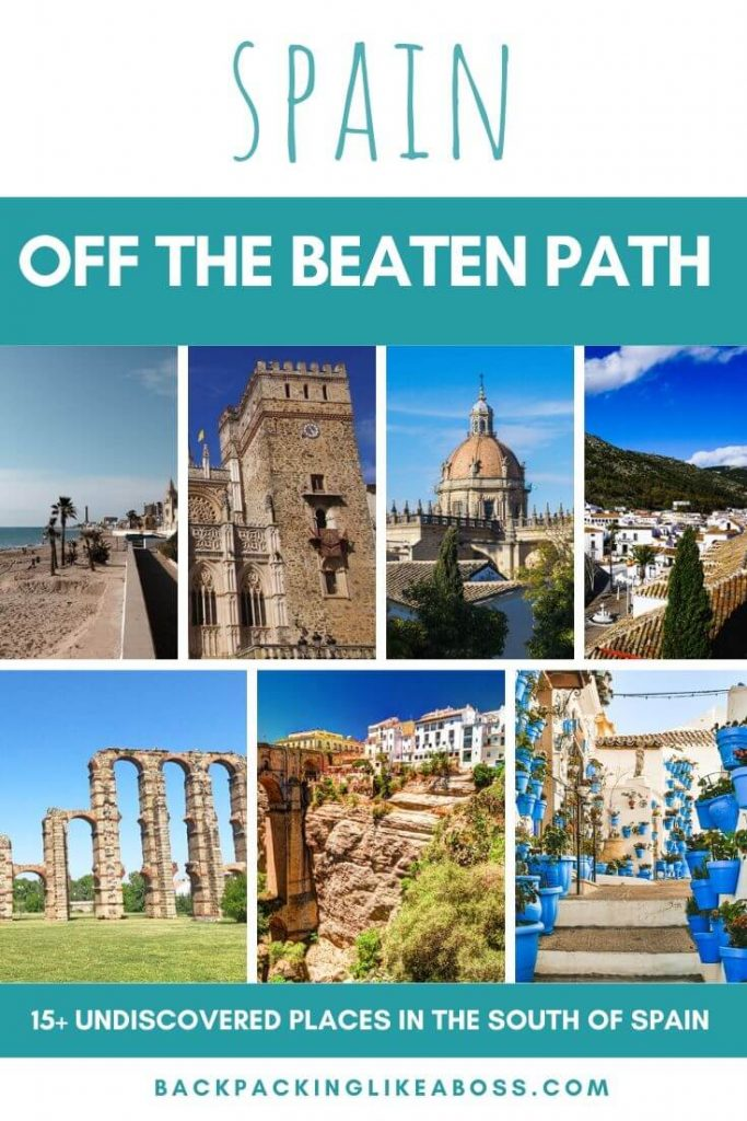 Off the beaten path south of Spain