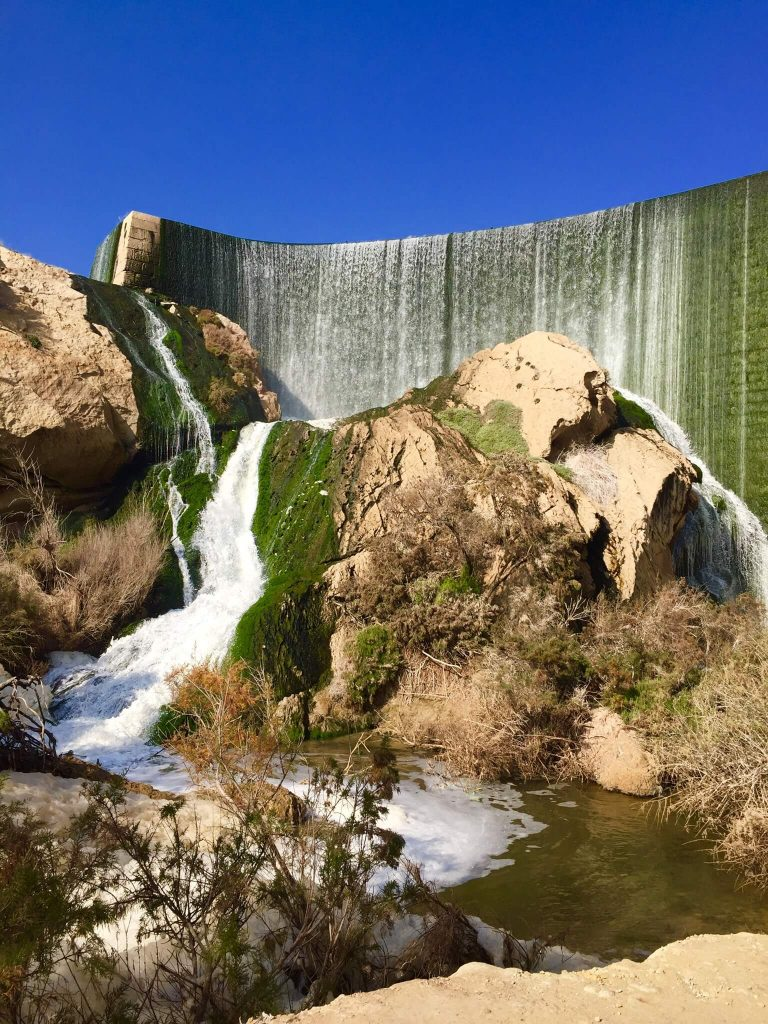 Patano de Elche - Artifical waterfall in Spain - Spanish waterfalls