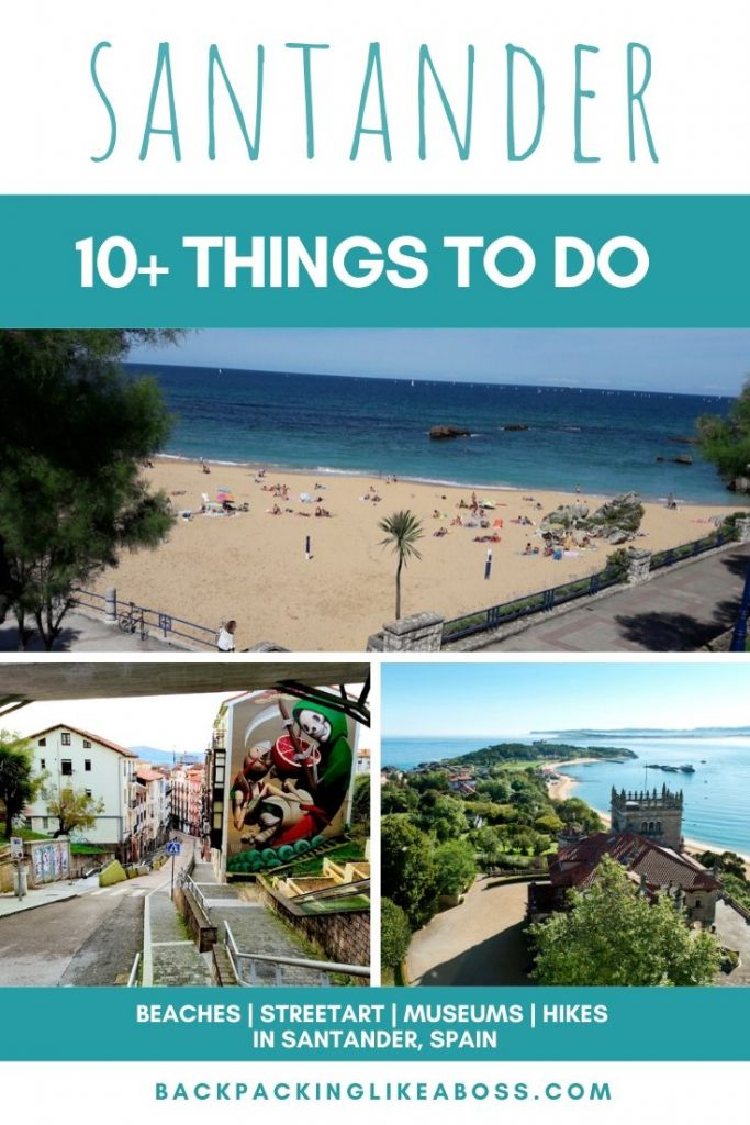 Top activities in Santander