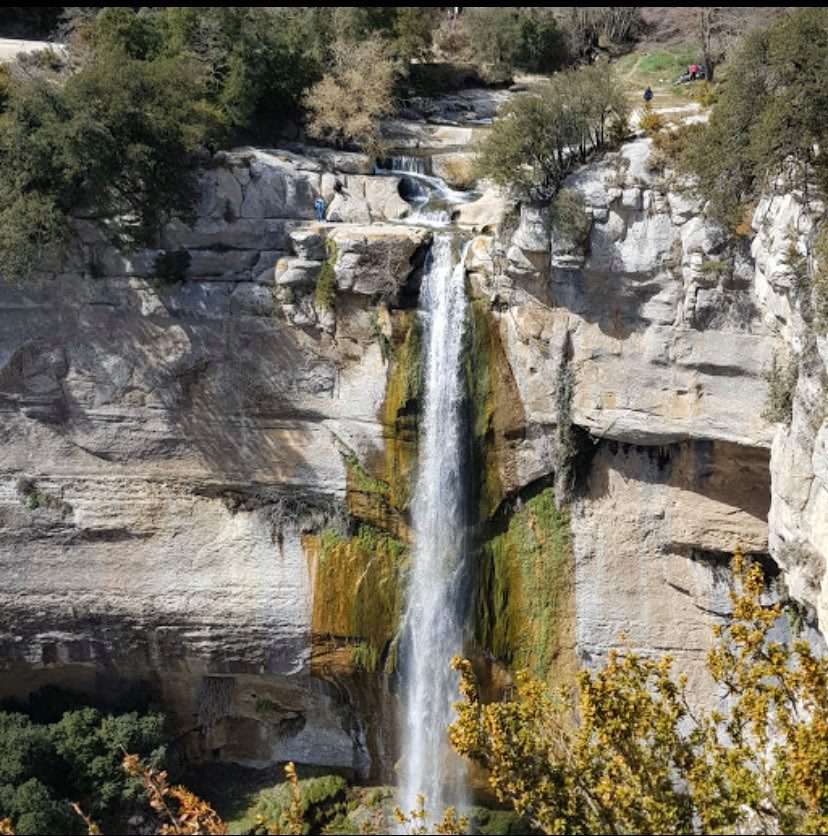 Waterfalls in Spain - Salt de Sallent Barcelona Catalunya