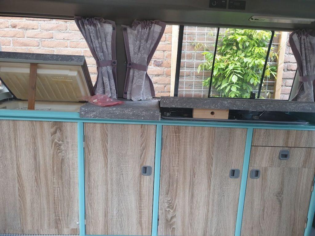 Campervan Kitchen Ideas - the result