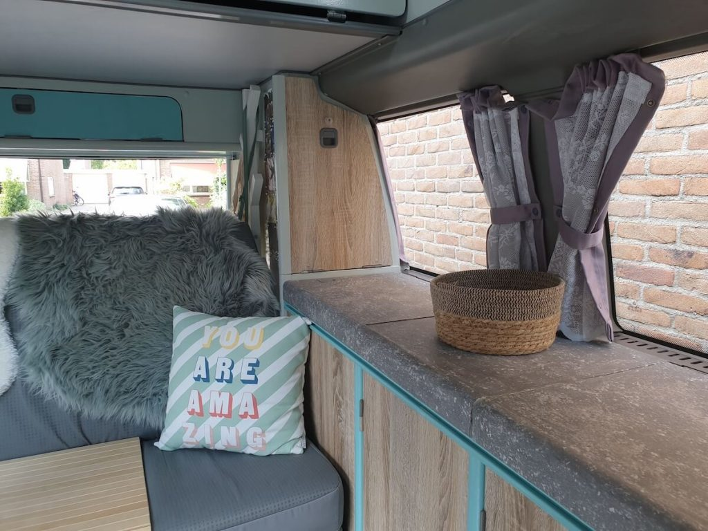 Campervan Kitchen Ideas - wrapping results