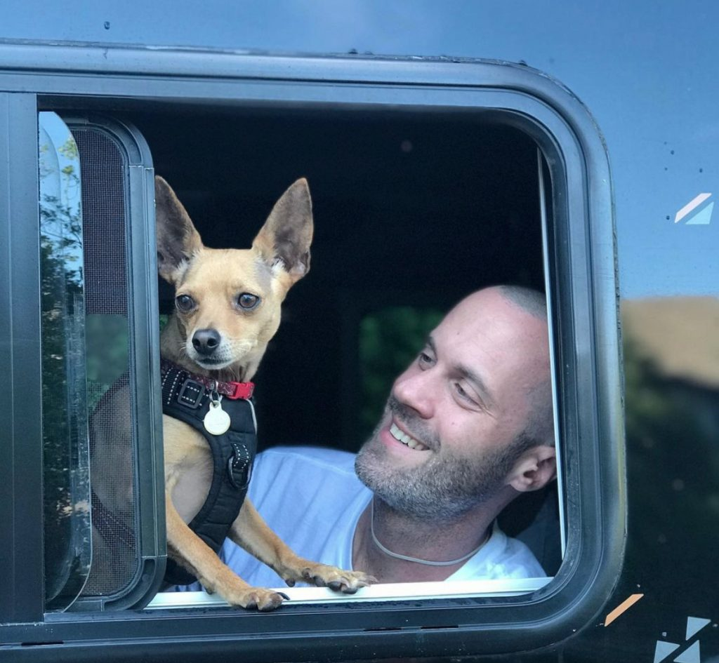 vanlife with dogs - orlando chadandpaul
